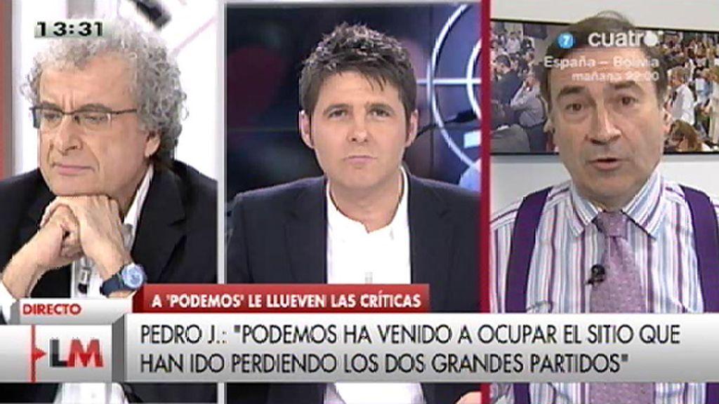 """Pedro J. Ramírez: """"Si no hay reforma, habrá revolución, yo apuesto por la reforma"""""""