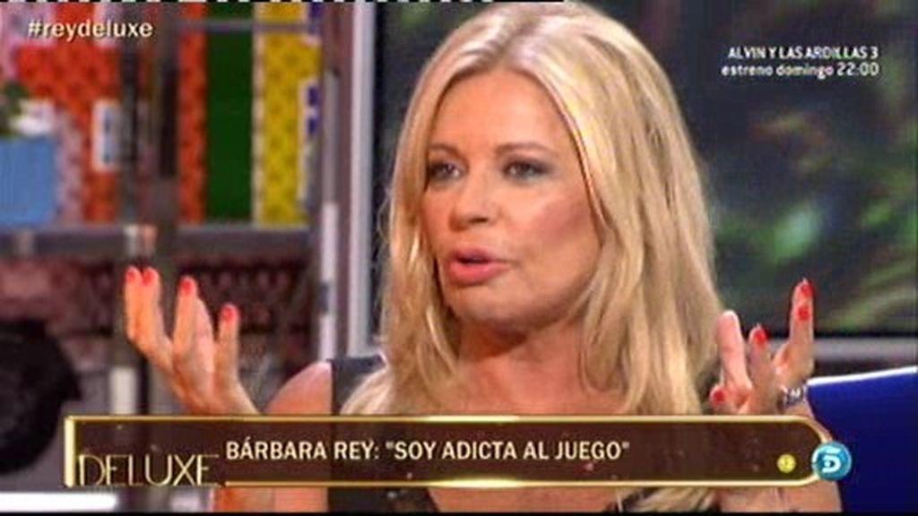 """Bárbara Rey: """"Soy adicta al juego y me he gastado más de un millón de euros"""""""