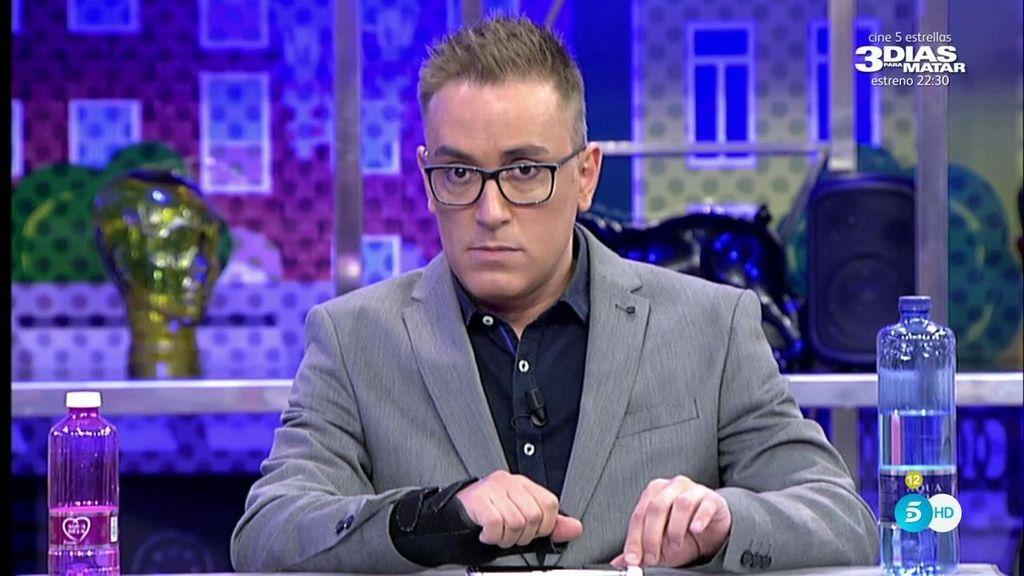"""Kiko Hernández: """"Ya lo he arreglado con Carlos Lozano, hicimos el ridículo"""""""