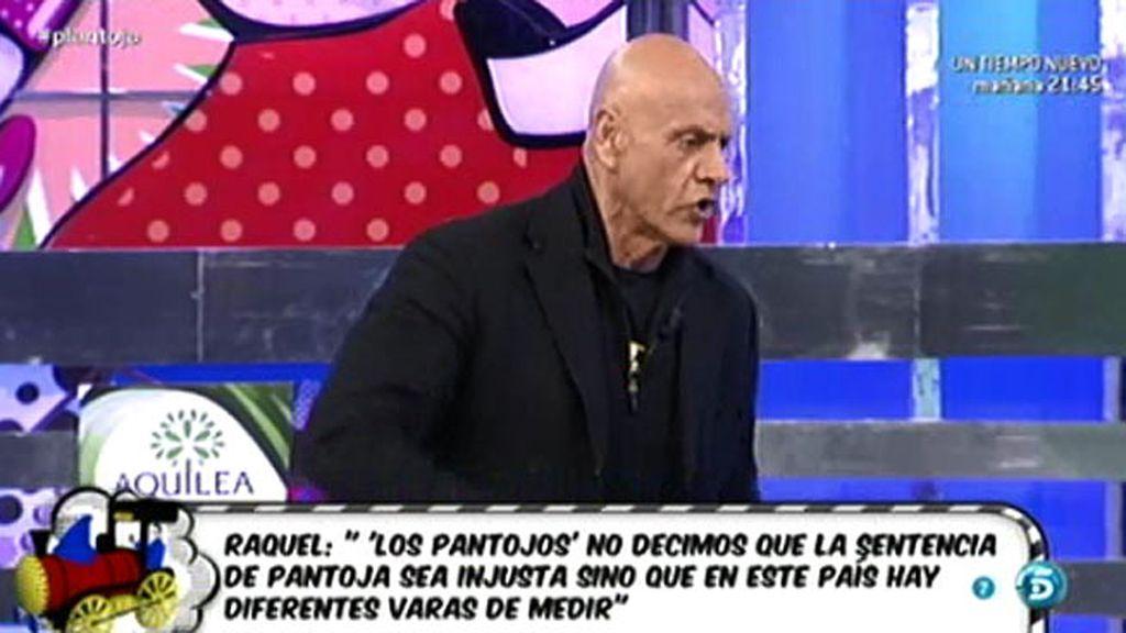 Matamoros responde al discurso de Raquel Bollo sobre Isabel Pantoja