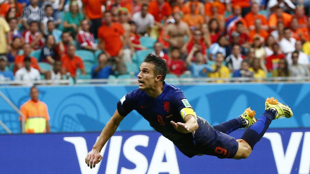 Los 10 mejores goles del Mundial en la primera fase: Messi, Van Persie, Cahill...