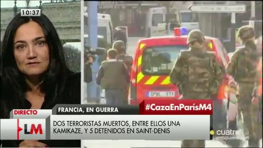 """Mayte Carrasco, experta en yihadismo: """"El Daesh quiere traer la guerra a Europa"""""""