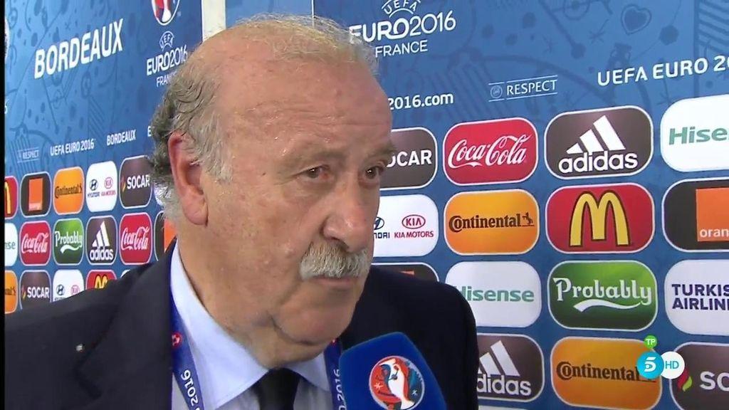 """Vicente del Bosque: """"Hay que mirar para delante aunque el camino no parece el ideal"""""""