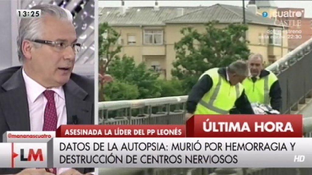 """Baltasar Garzón: """"Es muy difícil en un primer análisis saber el porqué y de quién"""""""