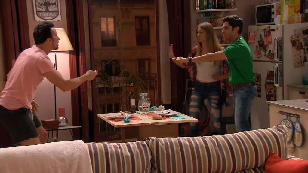 La incómoda estancia de Irene y Rodrigo en casa de Lucía