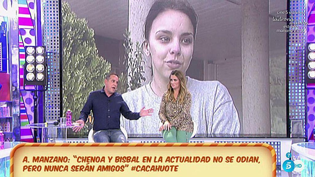"""Aurelio M.: """"Chenoa y Bisbal rompieron por los celos de ella, era como su madre"""""""
