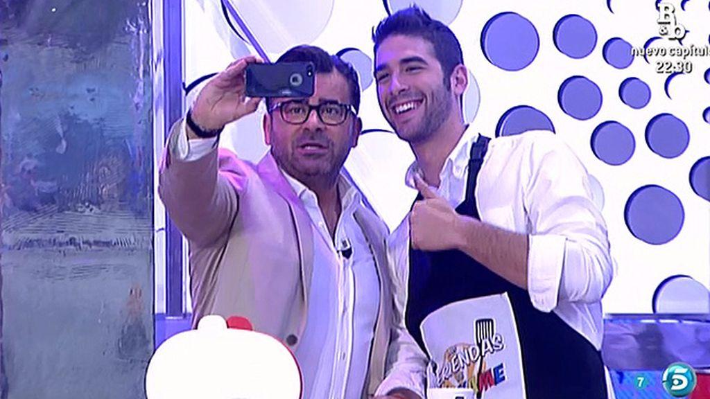 Jorge y Pedro, foto para Twitter