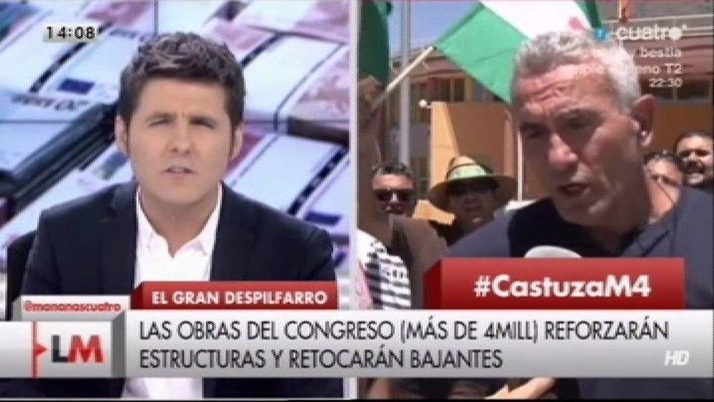 """Diego Cañamero: """"La Audiencia Provincial va a poner en libertad a Carlos"""""""