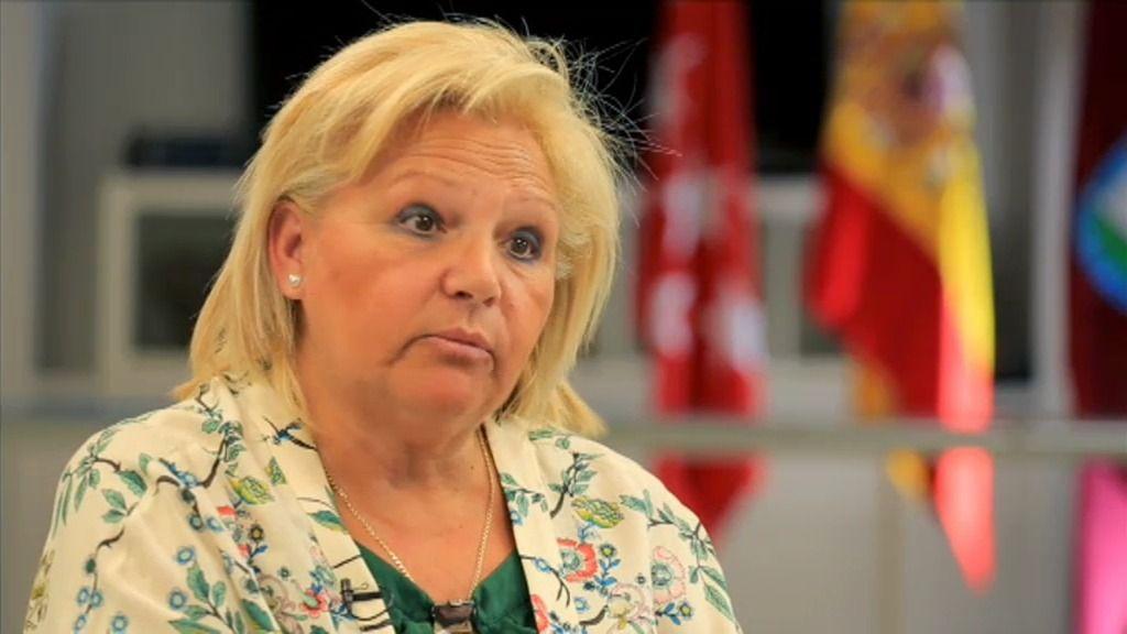 """Ángeles Pedraza, presidenta de la AVT: """"Respeto los encuentros, no los comparto"""""""