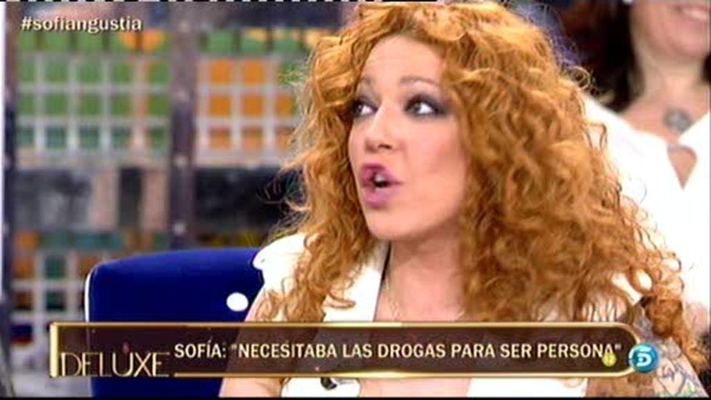 """Sofía Cristo: """"José Fernando ha estado muy poco en el centro de desintoxicación"""""""