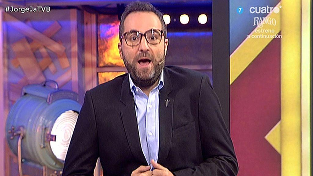 "Raúl Pérez imita a Jorge Javier Vázquez: ""Sálvame, en una palabra…soy yo"""