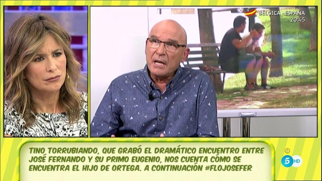Tino Torrubiano, el hombre que grabó las imágenes de Josefer y Eugenio, en 'Sálvame'