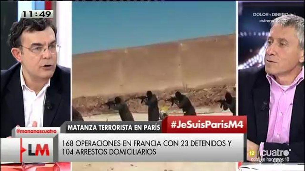 """M. Miralles: """"Esto es una guerra del siglo XXI"""""""