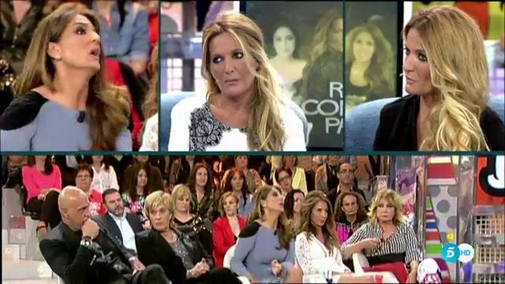 """Las Mellis, a Raquel Bollo: """"Te enfadaste por venir a hacer un posado a 'tu programa'"""""""