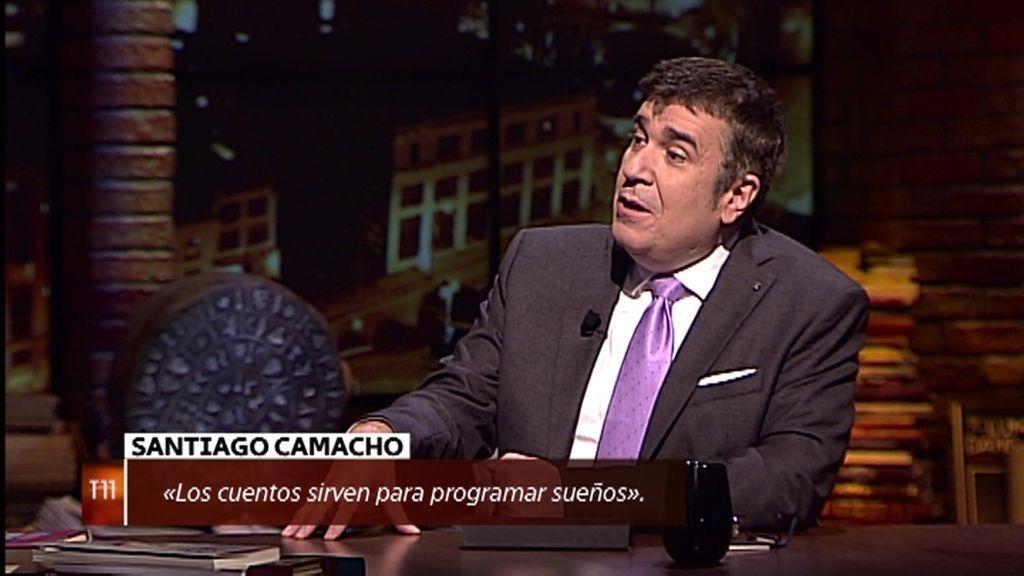 """Santiago Camacho: """"Los cuentos sirven para programar sueños en la mente"""""""