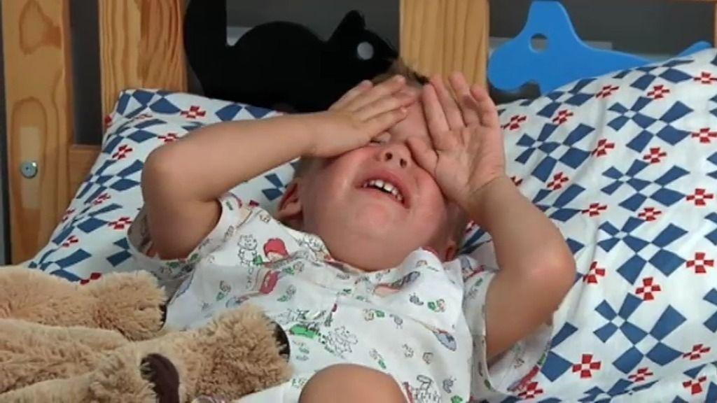 Neyzan empieza con las pataletas cuando no es su madre quien le acuesta