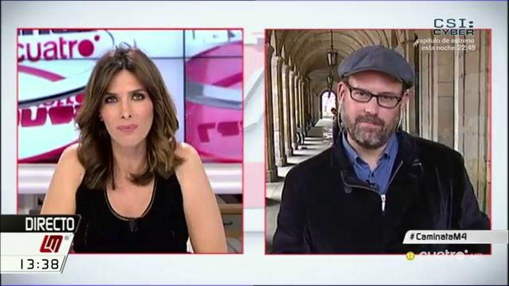 """Martiño Noriega: """"Rajoy da muestras de una soledad bastante importante"""""""