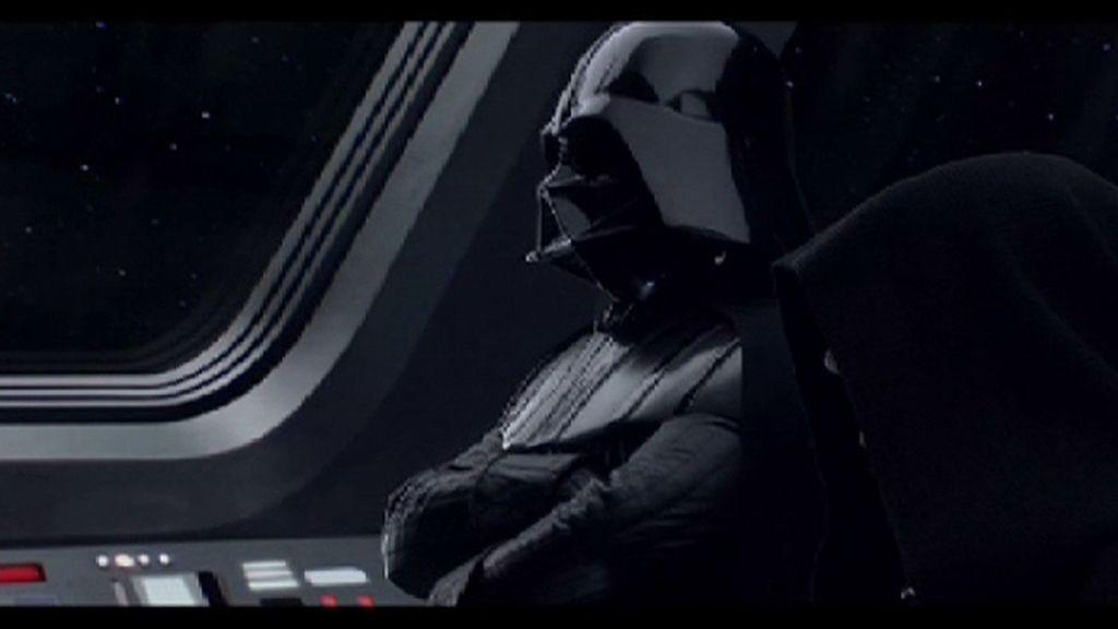 """Darth Vader: """"Pon la tele"""""""