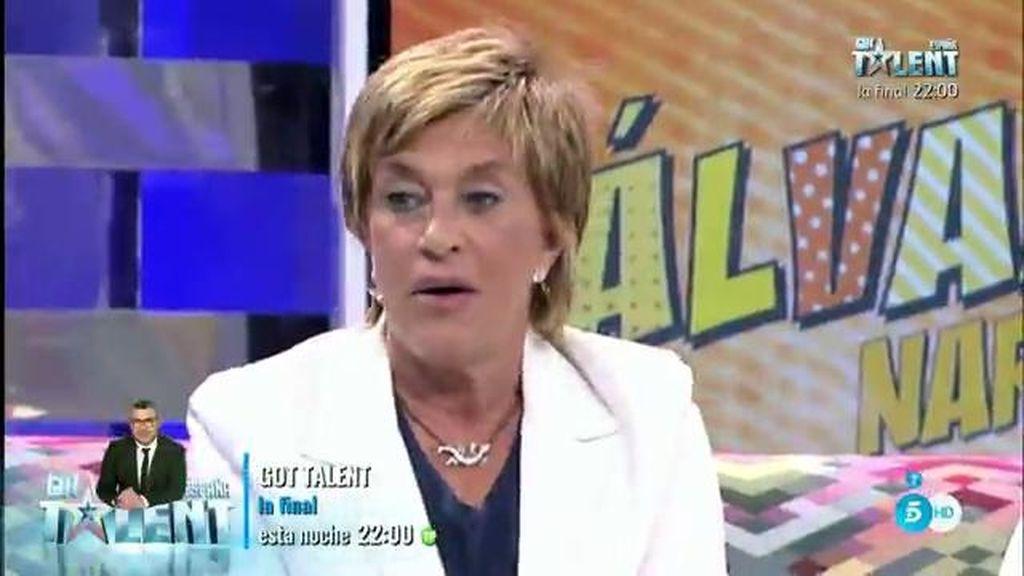 ¿Quién habrá tirado los tejos a Chelo García Cortés en los camerinos?