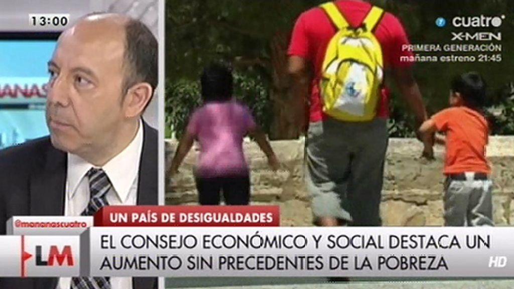"""Gonzalo Bernardos: """"Que aumenten los salarios es esencial para el futuro de España"""""""