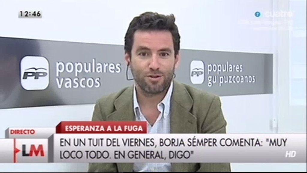 La entrevista a Borja Sémper, online
