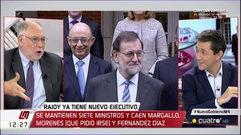 """Ernesto Ekaizer: """"Es un Gobierno de discontinuidad porque tiene que corregir lo que el mismo Gobierno incumplió"""""""