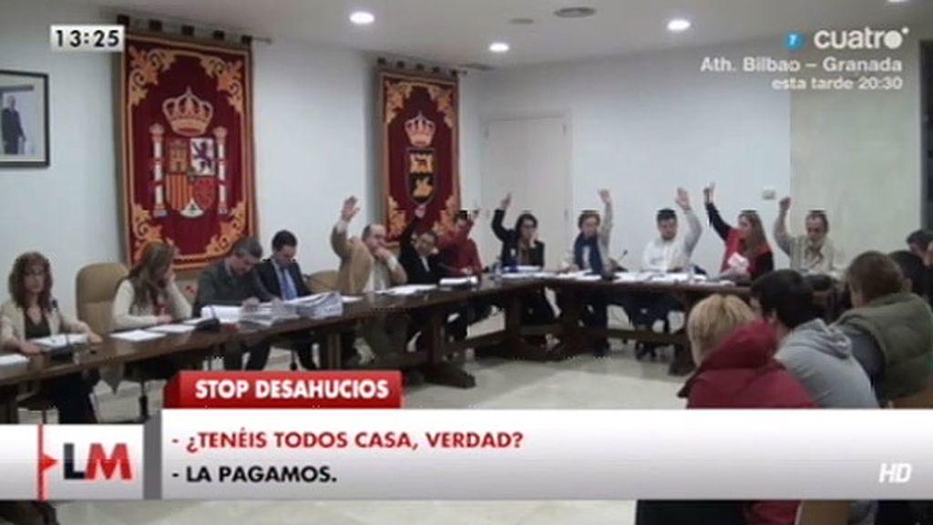 Bronca en San Martín de la Vega entre la alcaldesa y la PAH