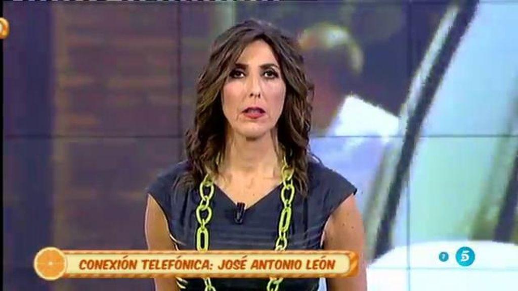 """J.A. León: """"Cuando Pantoja escuchó hablar a Isa le dio una crisis de ansiedad"""""""
