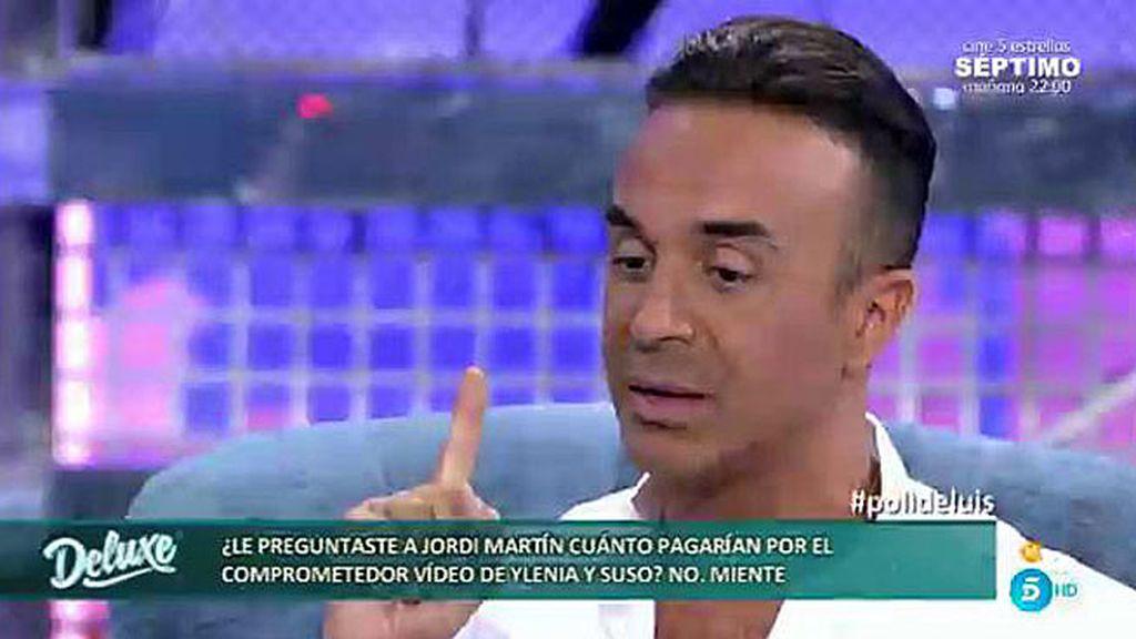 Luis Rollán quiso saber cuánto valdría un vídeo íntimo de Ylenia y Suso