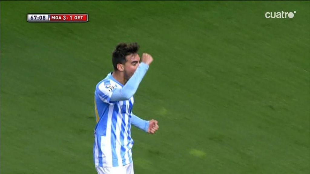 Samu Castillejo se marca la jugada del partido para servir el gol a Ricardo Horta