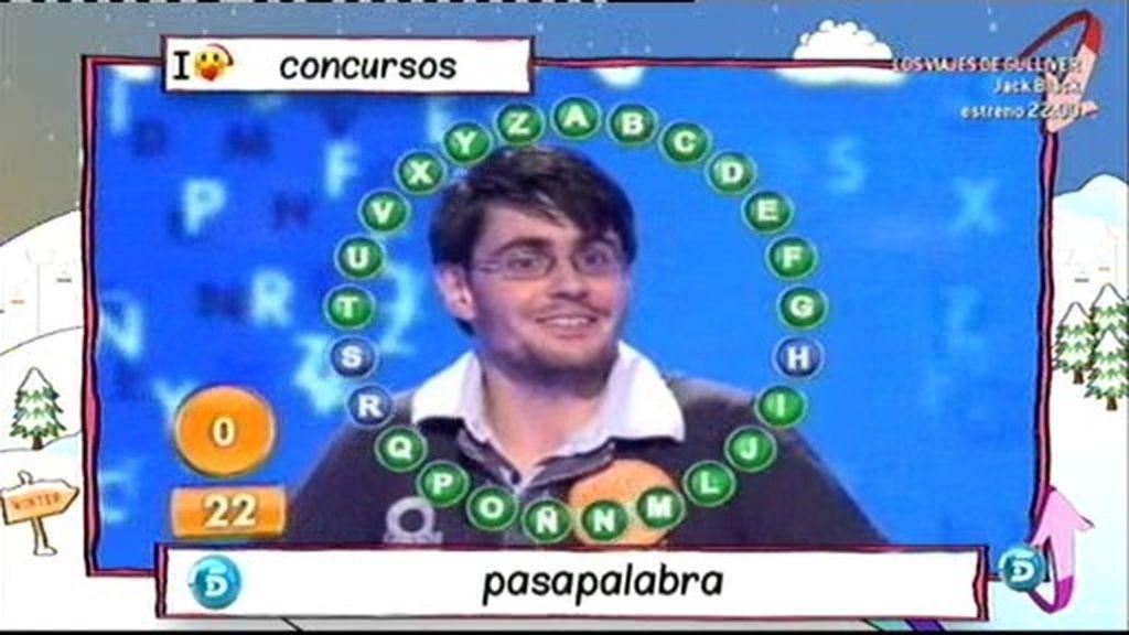 Luis, el campeón de 'Pasapalabra'