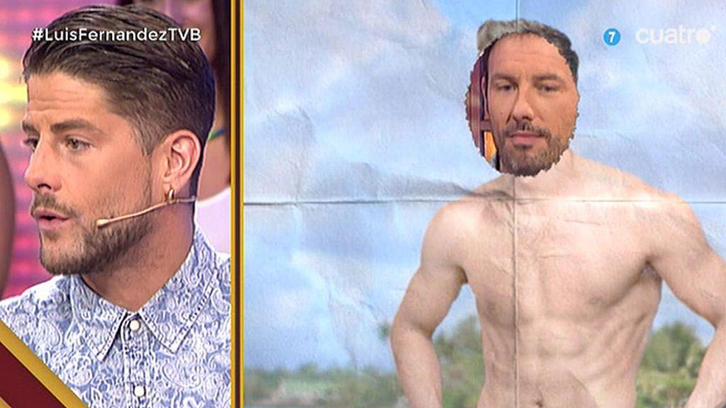 ¿Es capaz Luis Fernández de reconocer a sus compañeros de trabajo por el torso?