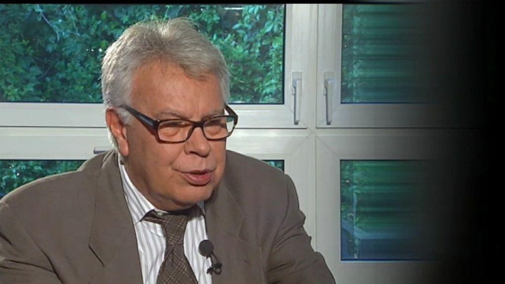 """Felipe Gónzalez, sobre Suárez: """"Era un tipo muy abierto que tenía sentido social"""""""