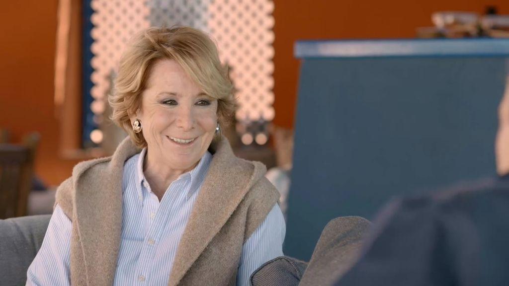 """Aguirre: """"Mi marido me llevó a patinar y a comer hamburguesa en la primera cita, a mi me pareció un puntazo"""""""