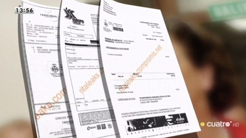 Las facturas de Rita Barberá: 278.000 euros repartidos en 466 facturas