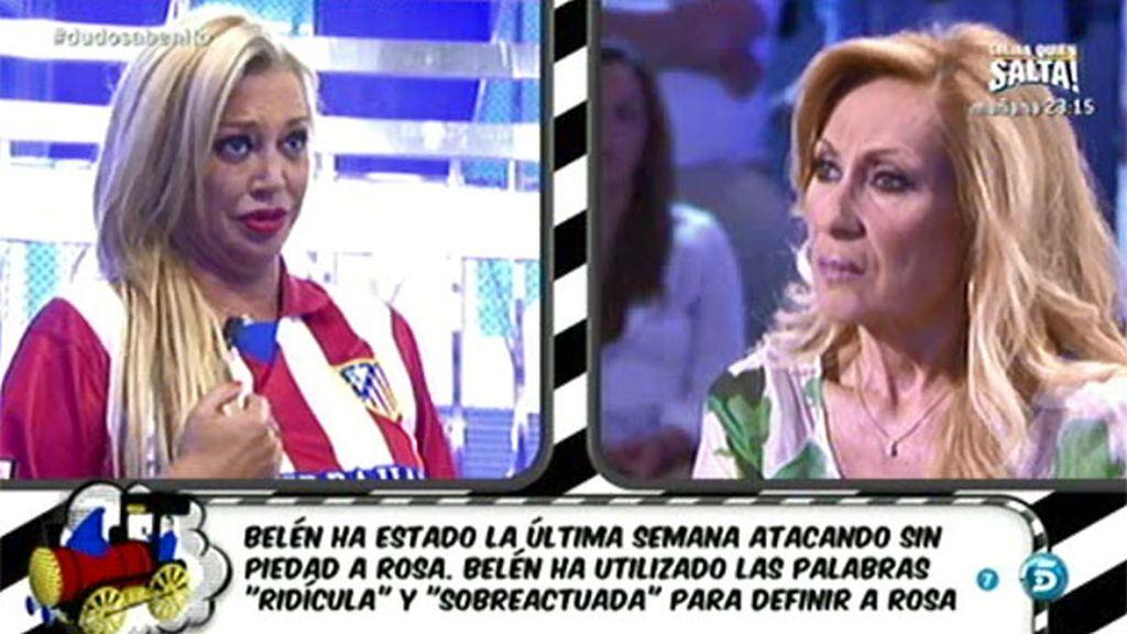 "Belén Esteban, a Rosa Benito: ""Yo no hubiera ido a 'SV' aunque me lo hubieran pedido"""