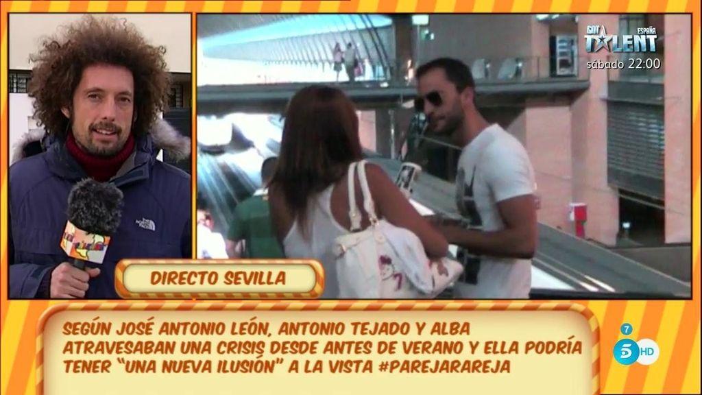 """J.A. León: """"A. Tejado y Alba se han separado y la próxima semana firman el divorcio"""""""