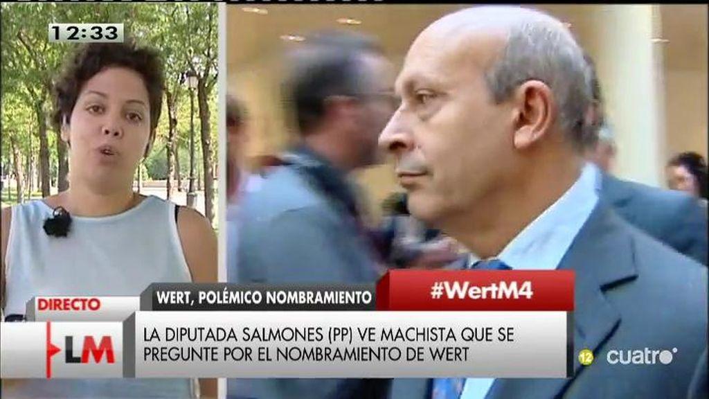 """Ana García, sindicato de estudiantes: """"A Wert le han mandado a un retiro dorado"""""""