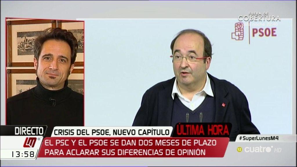 """Javier Gallego: """"La costurera Susana Díaz no da puntada sin hilo, o más bien navajazo"""""""