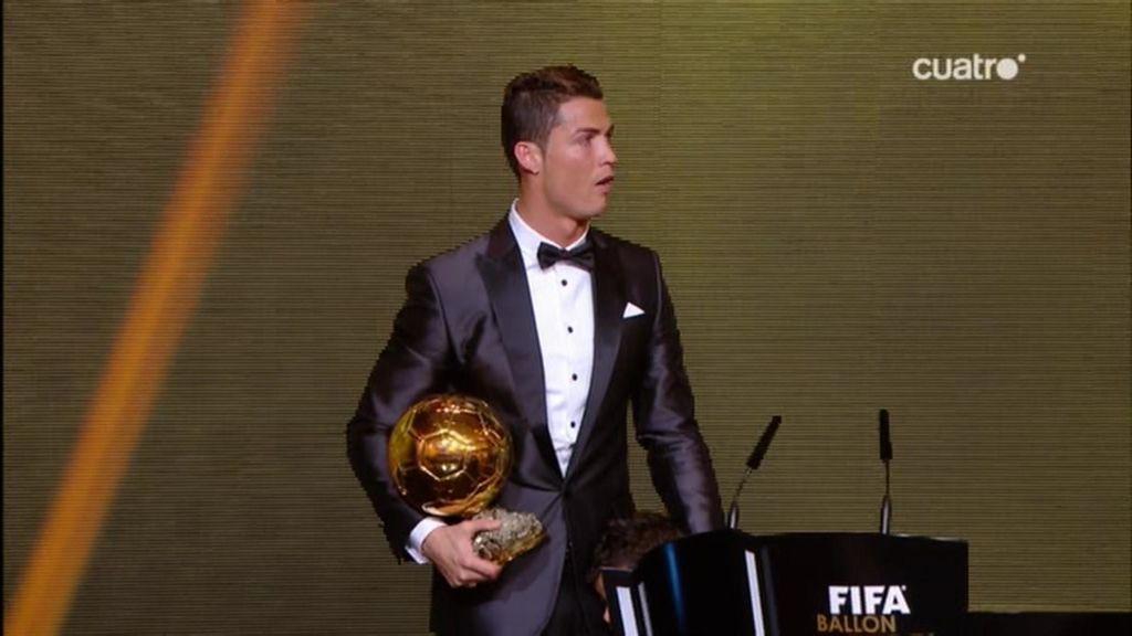 Cristiano Ronaldo muestra su lado más humano tras recibir el balón de Oro