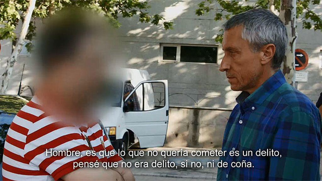 """Gerardo, presunto pederasta, a la menor: """"Quiero pedirle perdón"""""""