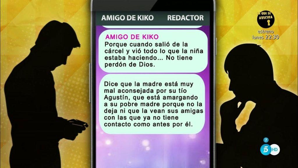 Los whatsapps incendiarios del amigo que ha traicionado a Kiko Rivera