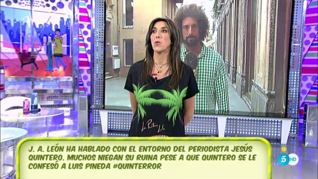 """Paz Padilla se solidariza con Jesús Quintero: """"Yo me ofrezco a lo que tú necesites"""""""