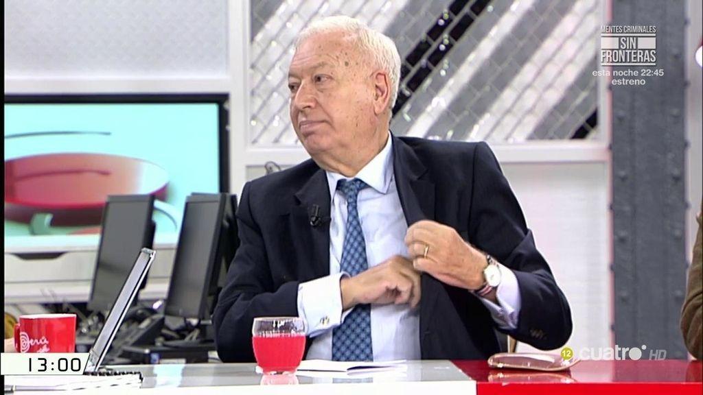 Margallo confirma que Rita Barberá no quería presentarse a su reelección en 2015