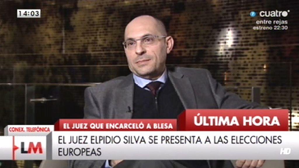 """Elpidio José Silva: """"Voy a concurrir a las elecciones al Parlamento Europeo"""""""