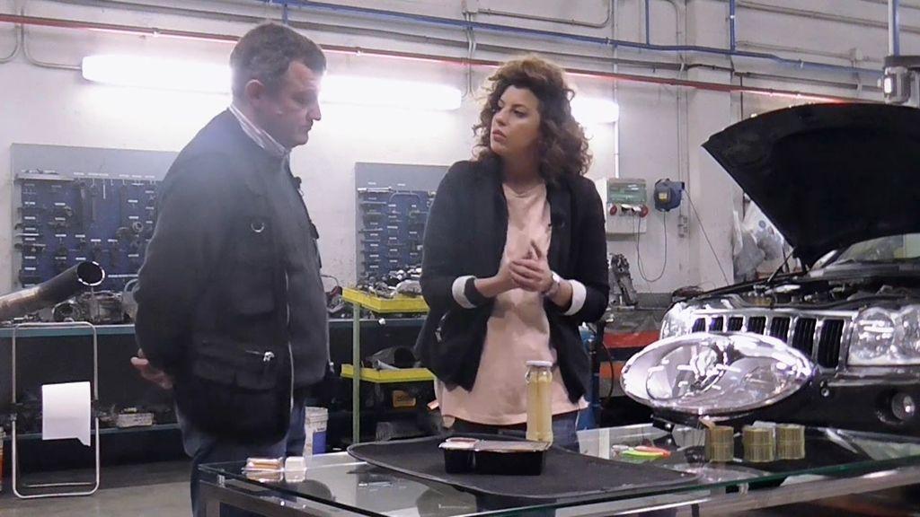 Las conservas comparten elementos contaminantes con los faros de un coche