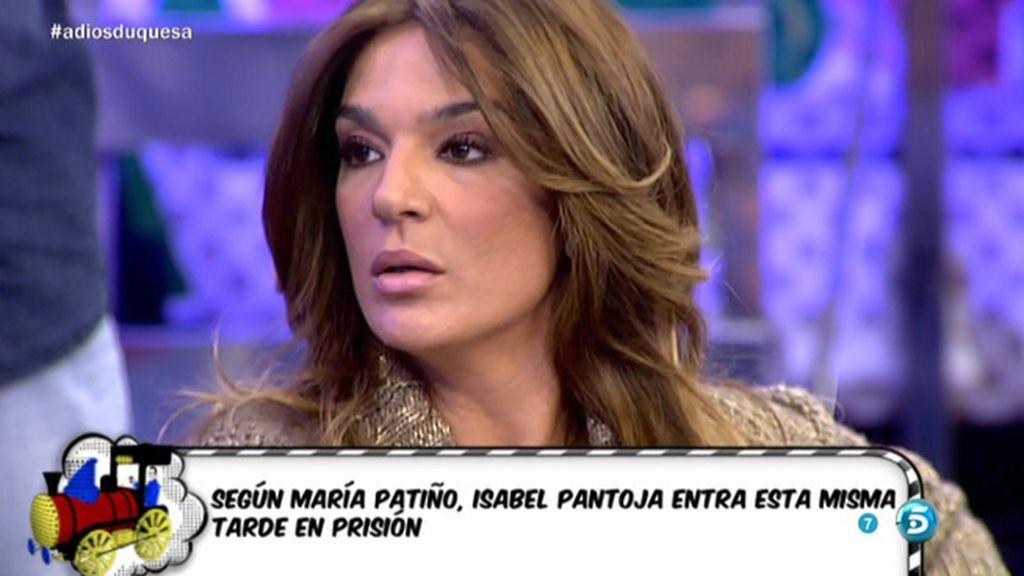 """Raquel Bollo: """"Isabel Pantoja se merece protección a la entrada en prisión"""""""