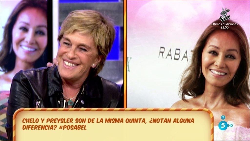 Chelo vs. Isabel Preysler ¿Quién aparenta ser más joven?