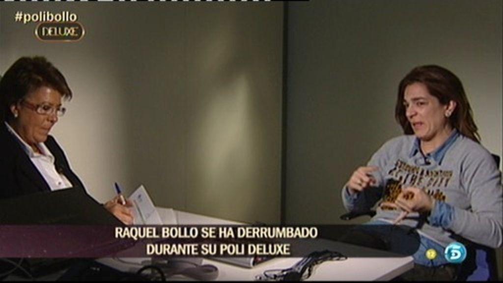 El polígrafo de Raquel Bollo, el más duro