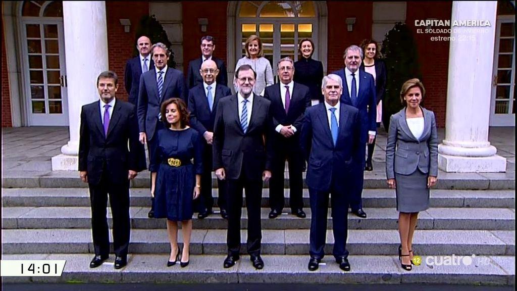 Todo lo que no se ha visto durante la jura de cargos del nuevo Gobierno de Rajoy